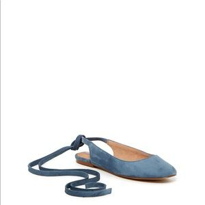 Madewell ankle wrap flats size 8 vguc